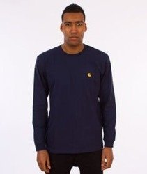 Carhartt-Chase Longsleeve Blue/Gold