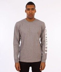 Carhartt-College Left Longsleeve Grey Heather/White