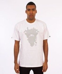 Crooks & Castles-Cryptic Medusa T-Shirt Biały