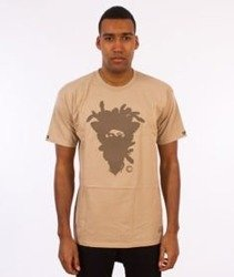 Crooks & Castles-Cryptic Medusa T-Shirt Khaki