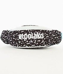 El Polako-Line And Dot Street Bag Nerka Czarna/Multikolor