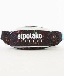 El Polako-Paint Dot Street Bag Nerka Czarna/Multikolor