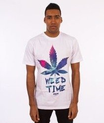 Equalizer-Weed Time T-shirt Biały