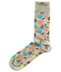 Happy Socks-Diamond Skarpety [DIA01-9001]