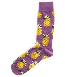 Happy Socks-Pineapple Skarpety [PIN01-5000]