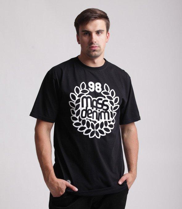 Mass-Base T-shirt Czarny