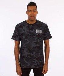 SmokeStory-Premium Flag Moro Line T-Shirt Czarne Camo