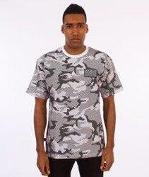 SmokeStory-Premium Flag Moro Line T-Shirt Szare Camo