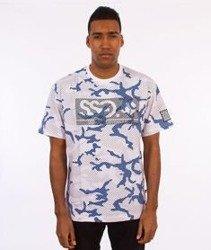 SmokeStory-Premium SSG Moro Paski T-Shirt Niebieski