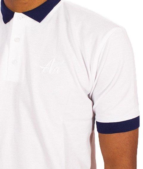 Alkopoligamia-Aa' Basic Polo Biała