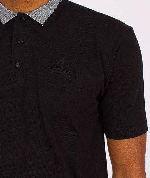 Alkopoligamia-Aa' Basic Polo Czarna
