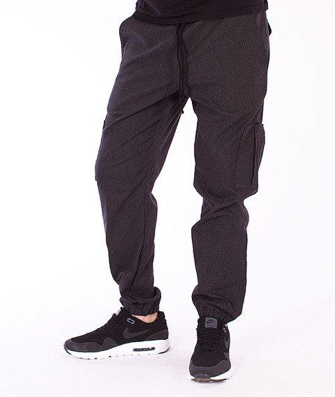 Alter Eggo-Elegante Spodnie Jogger Dark Grey