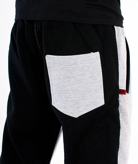 Alter Eggo-Two Sides Spodnie Dresowe Szare/Czarne