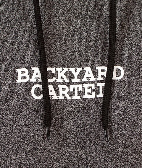 Backyard Cartel-Cartel Hoody Bluza Kaptur Szara