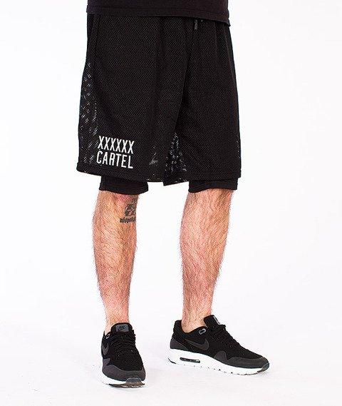 Backyard Cartel-Transition Mesh Shorts Black
