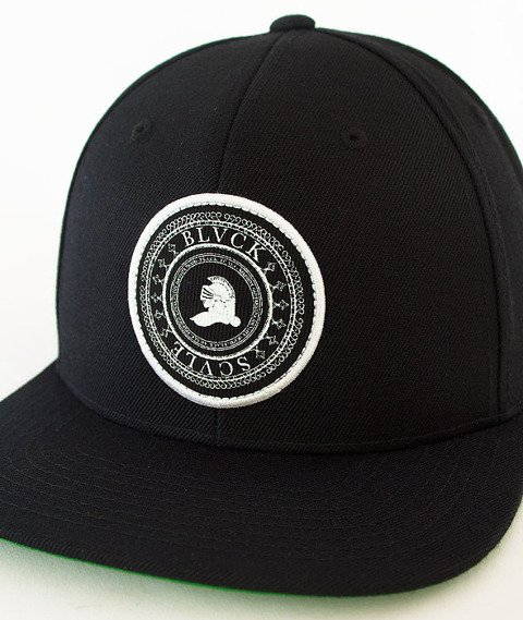 Black Scale-Circular Logic Snapback Black