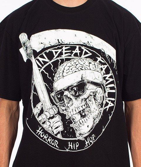 Brain Dead Familia-Death T-shirt Czarny