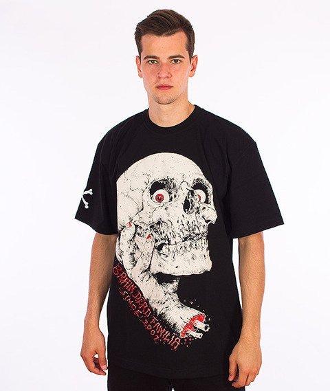 Brain Dead Familia-Hand T-shirt Czarny