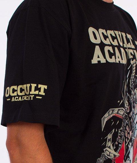 Brain Dead Familia-Rider T-shirt Czarny