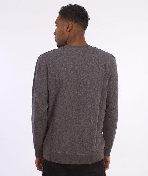 Carhartt-College Sweatshirt Dark Grey Heather/White