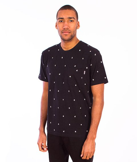 Carhartt-Drop Cap Pocket T-Shirt Black/White