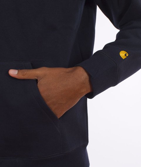 Carhartt-Hooded Chase Jacket Navy