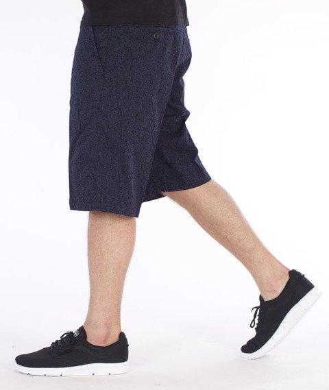 Carhartt-Johnson Krótkie Spodnie Blue Penny/Black Flora Print