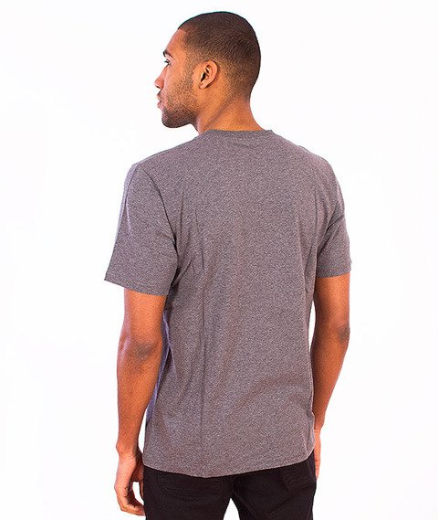 Carhartt WIP-Pocket T-Shirt Dark Grey Heather