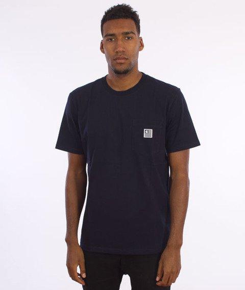 Carhartt WIP-State Pocket T-Shirt Navy