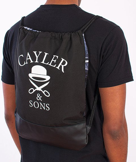 Cayler & Sons- BKNY Gym Bag Black/White