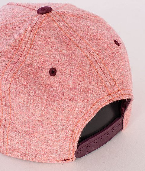 Cayler & Sons-Barber Cap Red-Heather/Maroon