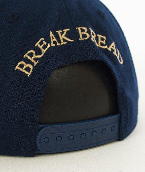 Cayler & Sons-Break Bread Classic Snapback Navy/Gold