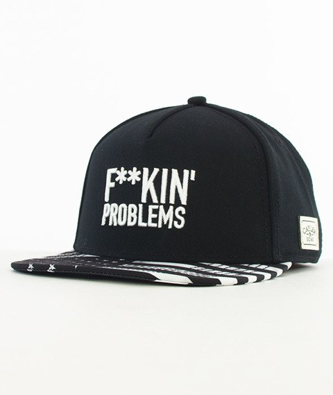 Cayler & Sons-F**kin' Problems Classic Snapback Black/White