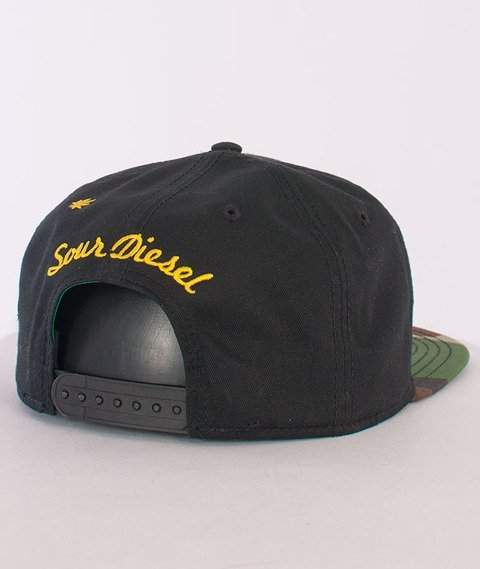 Cayler & Sons-Sour Diesel Cap Woodland/Black