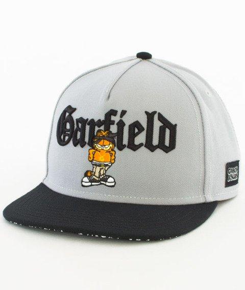 Cayler & Sons-WL Left Side Garfield Snapback Grey