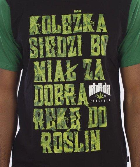 Chada-Koleżka T-Shirt Czarny/Zielony