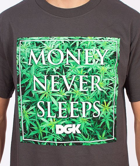 DGK-Money Field T-Shirt Grafitowy