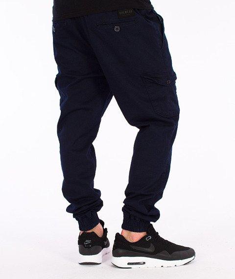 DIIL-Cargo Jogger Spodnie Granatowe