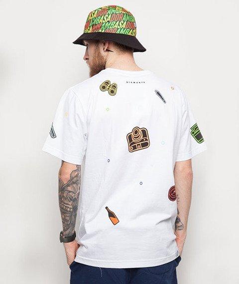 Diamante-Adventure T-Shirt Biały