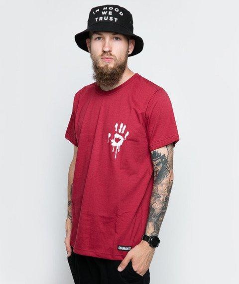 Diamante-I See Dead Haters T-Shirt Bordowy