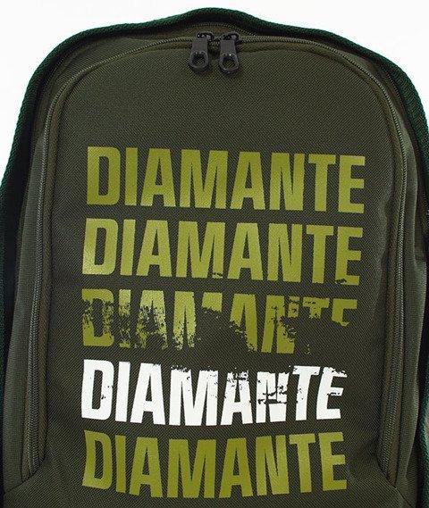 Diamante-LOGO Multi Plecak Oliwkowy