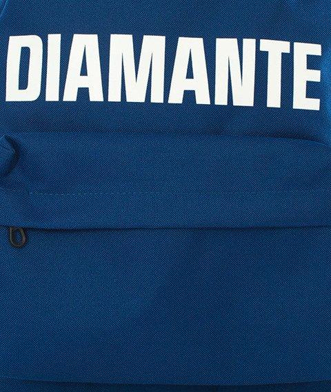Diamante-LOGO Plecak Niebieski