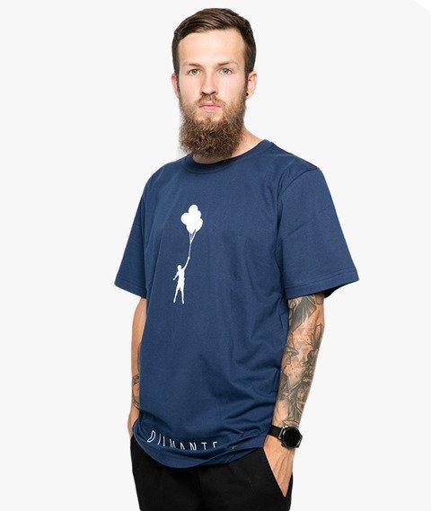 Diamante-My Life 2 T-Shirt Granatowy
