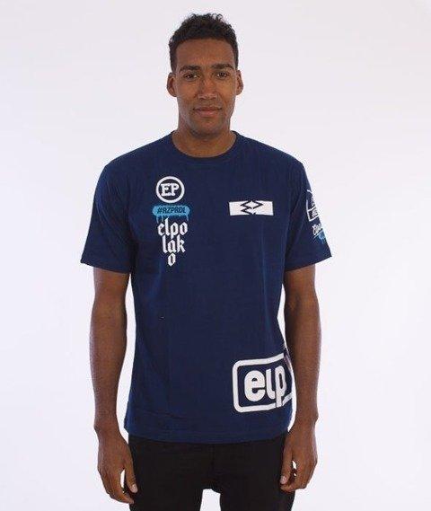 El Polako-Below Elpolako T-Shirt Granatowy