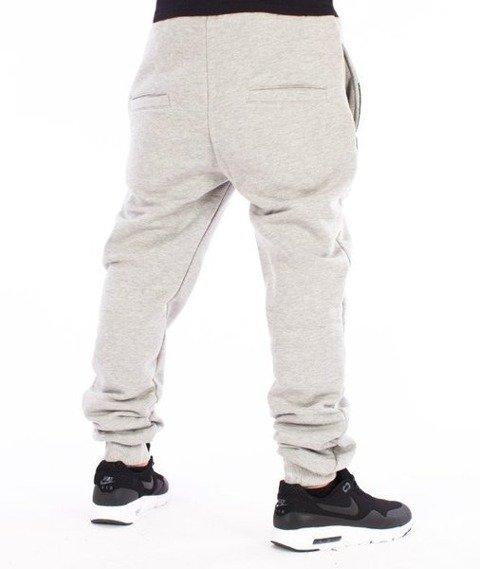 El Polako-Belt Fit Spodnie Dresowe Szare
