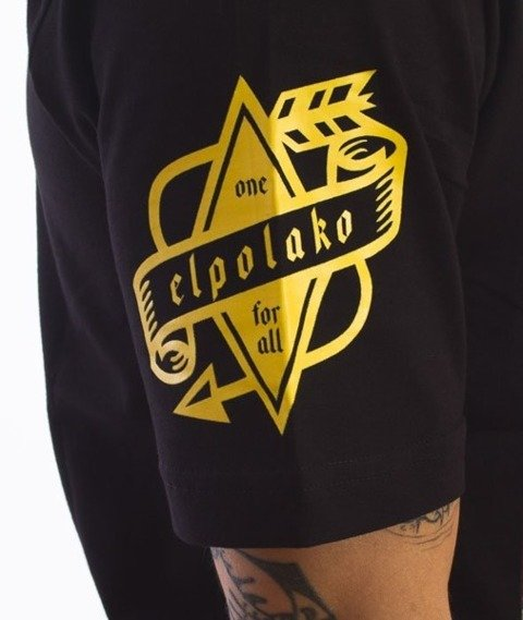 El Polako-E City T-Shirt Czarny