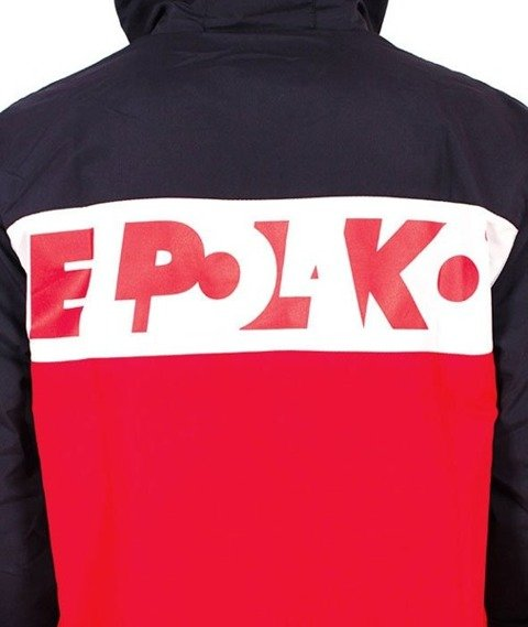 El Polako-El Polako Kurtka Wiatrówka Czerwona