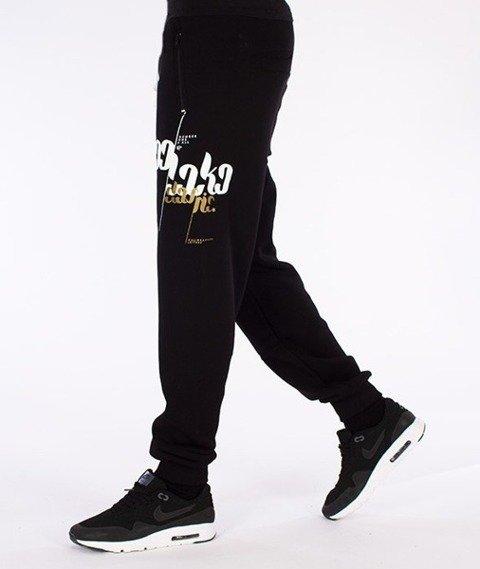 El Polako-Epfont Regular Spodnie Dresowe Czarne