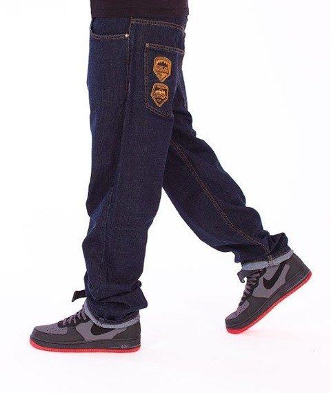 El Polako-Expedition Regular Jeans Dark Blue
