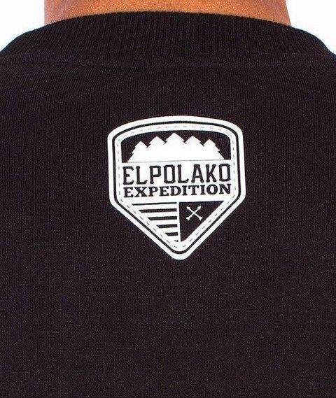 El Polako-Lion Wild Eyes Bluza Czarna/Multikolor